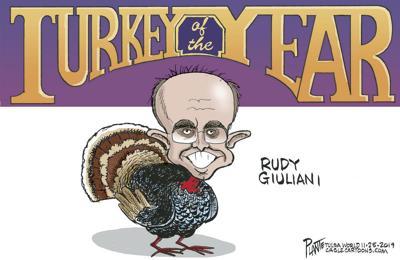 Bruce Plante Cartoon: Turkey of the Year