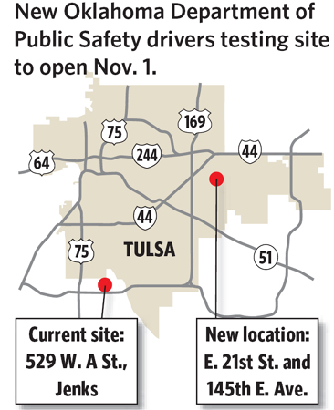 oklahoma drivers license testing sites tulsa
