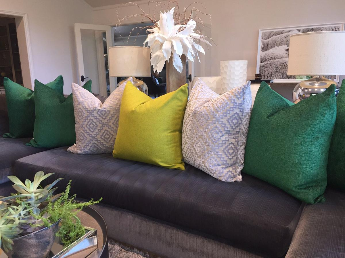 pillow talk: different sizes, shapes and textures give any space a