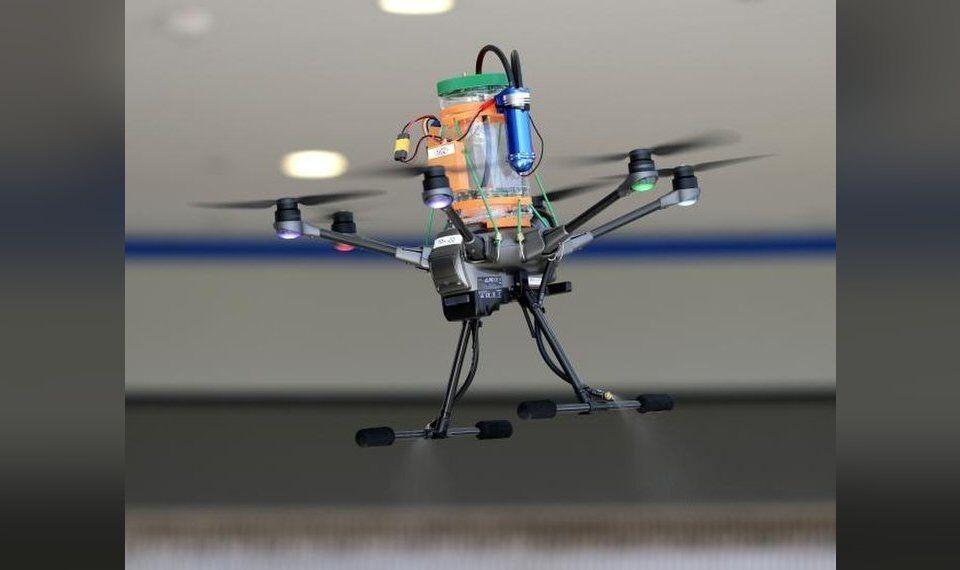 Rose State College drone