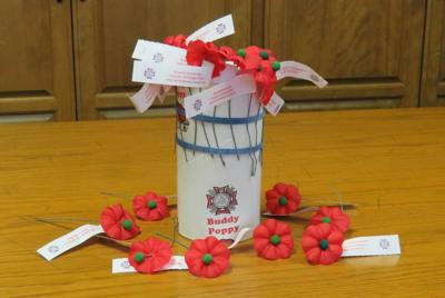 Owasso Vfw Places Buddy Poppy Donation Jars Across Community For