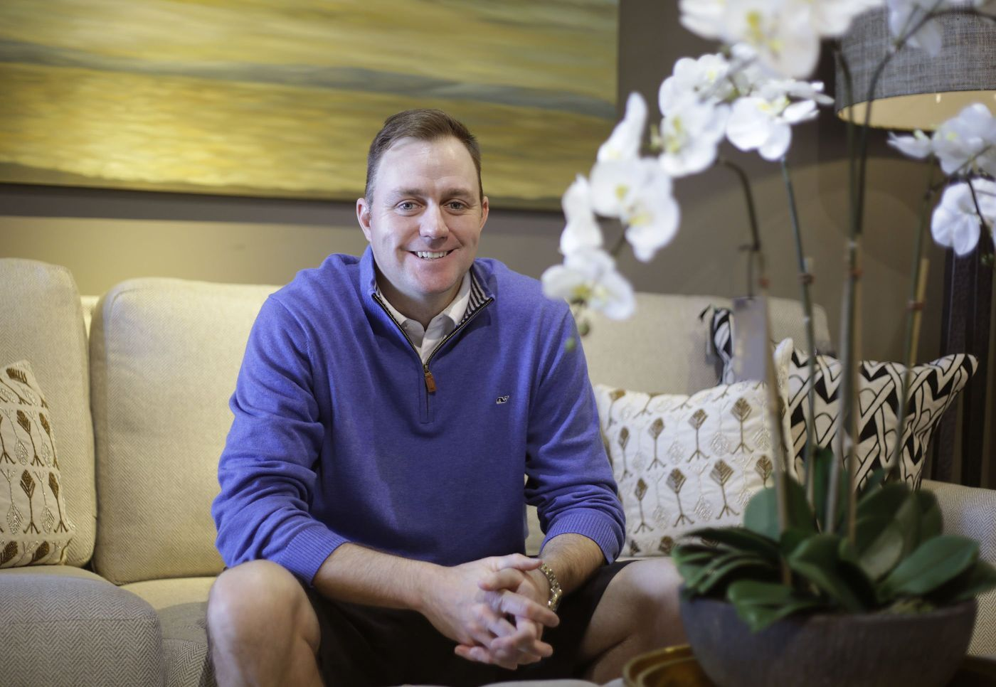 Luxe Furniture And Design Owner Chris Noel