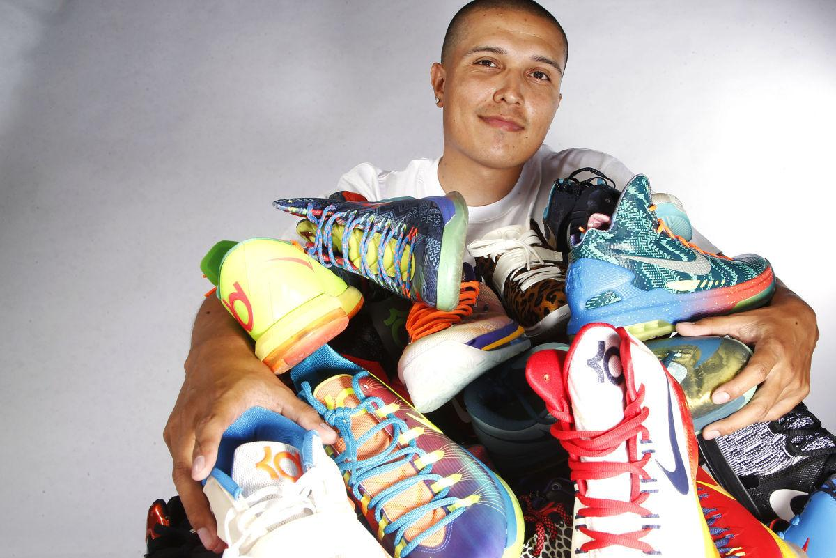 best loved 20f65 f56ec Get your kicks: Rise of shoe collecting leads to Kicklahoma ...