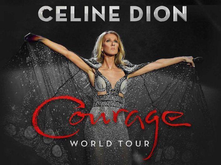 Celine Dion's Courage World Tour