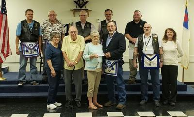 Masonic Lodge Donation