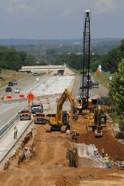 Oklahoma Turnpike Authority says toll revenue down due to construction projects