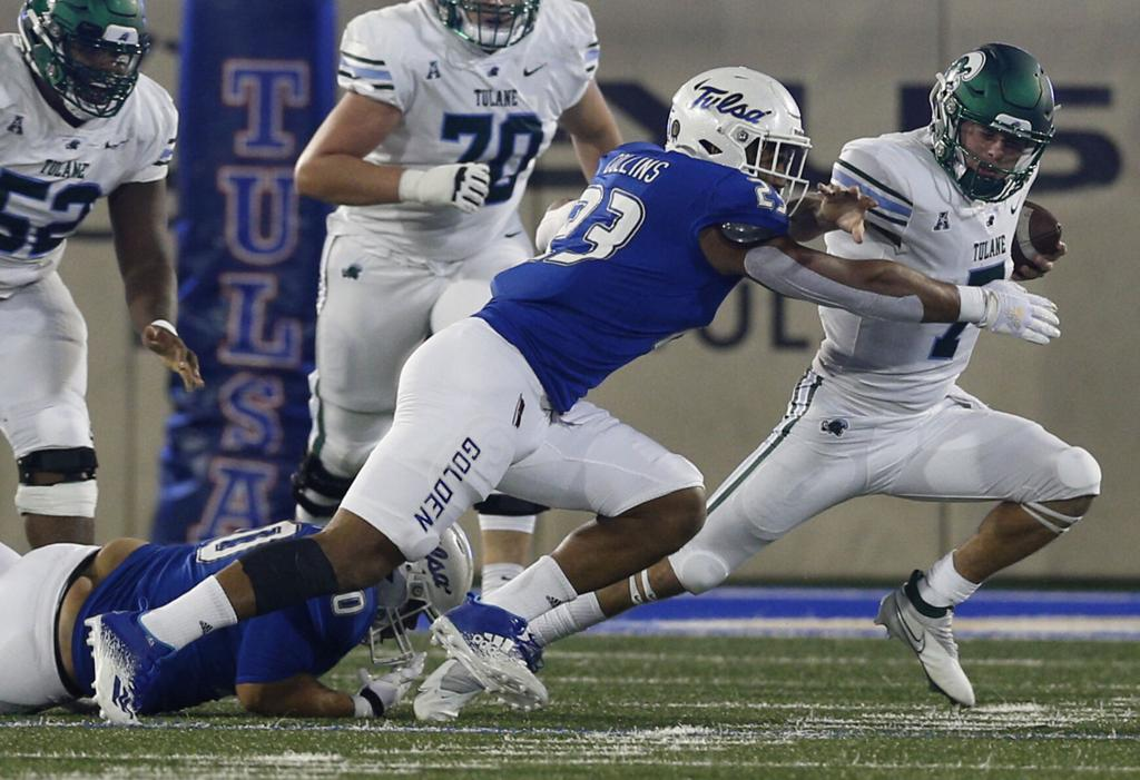 TU's Zaven Collins, Allie Green IV semifinalists for national awards | TU  Sports Extra | tulsaworld.com