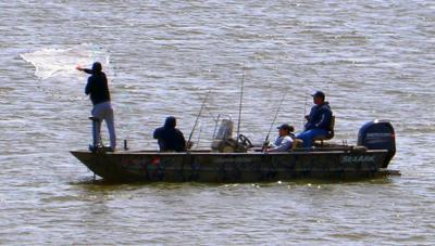 Fishing on Ft. Gibson