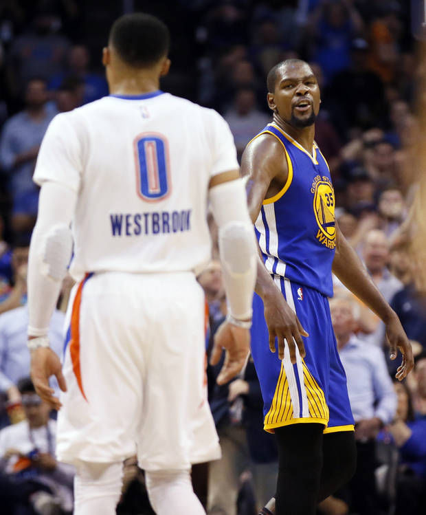 dc473af3153a Golden State Warriors  Kevin Durant s Twitter account gives reasons for leaving  Oklahoma City Thunder. Russell Westbrook ...