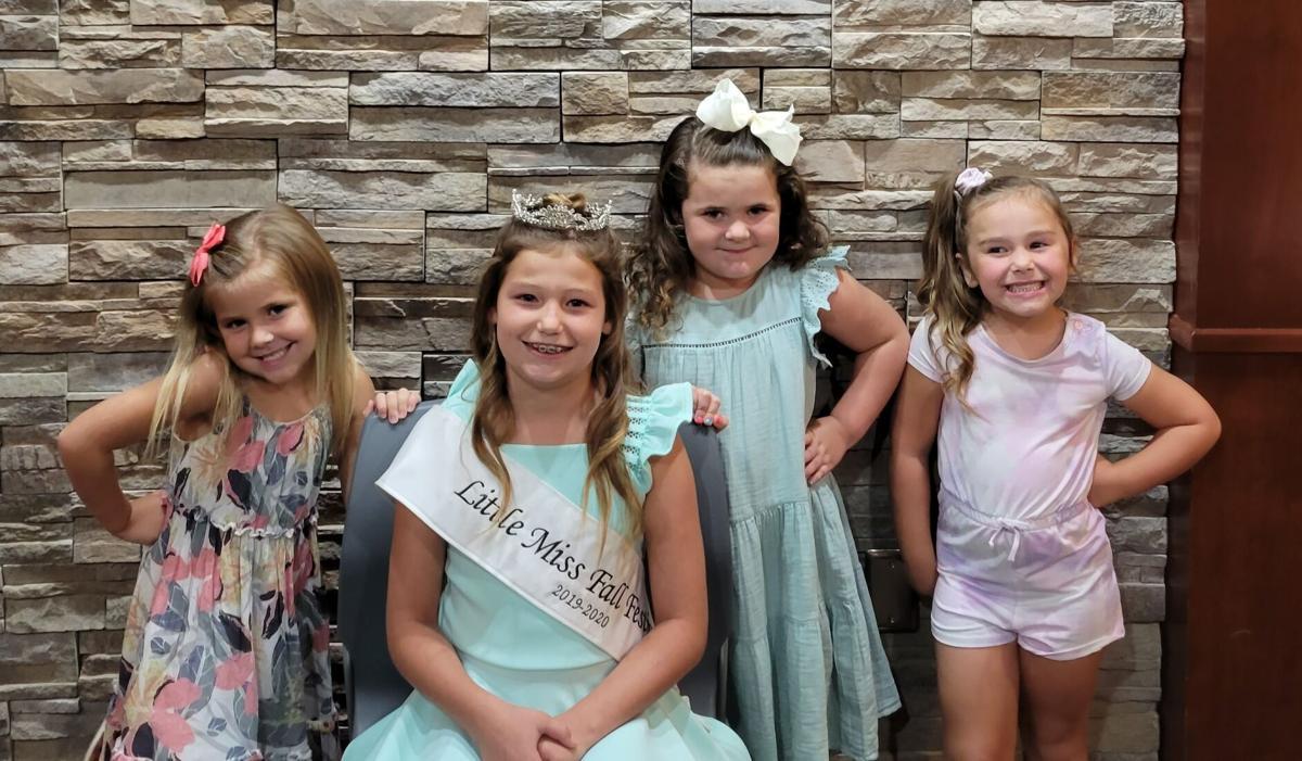 Little Miss Fall Festival Contestants