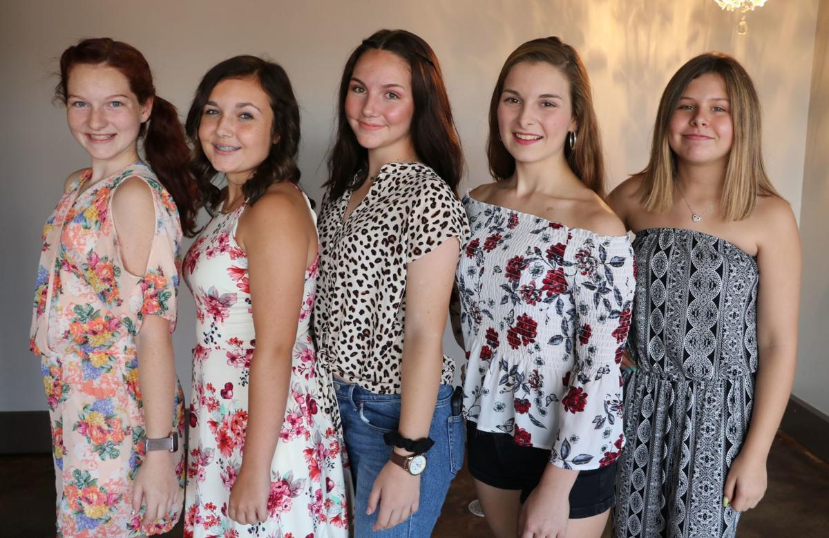 Miss Teen Fall Festival Contestants