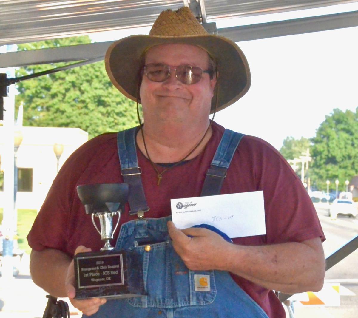Marty Williams wins chili prize