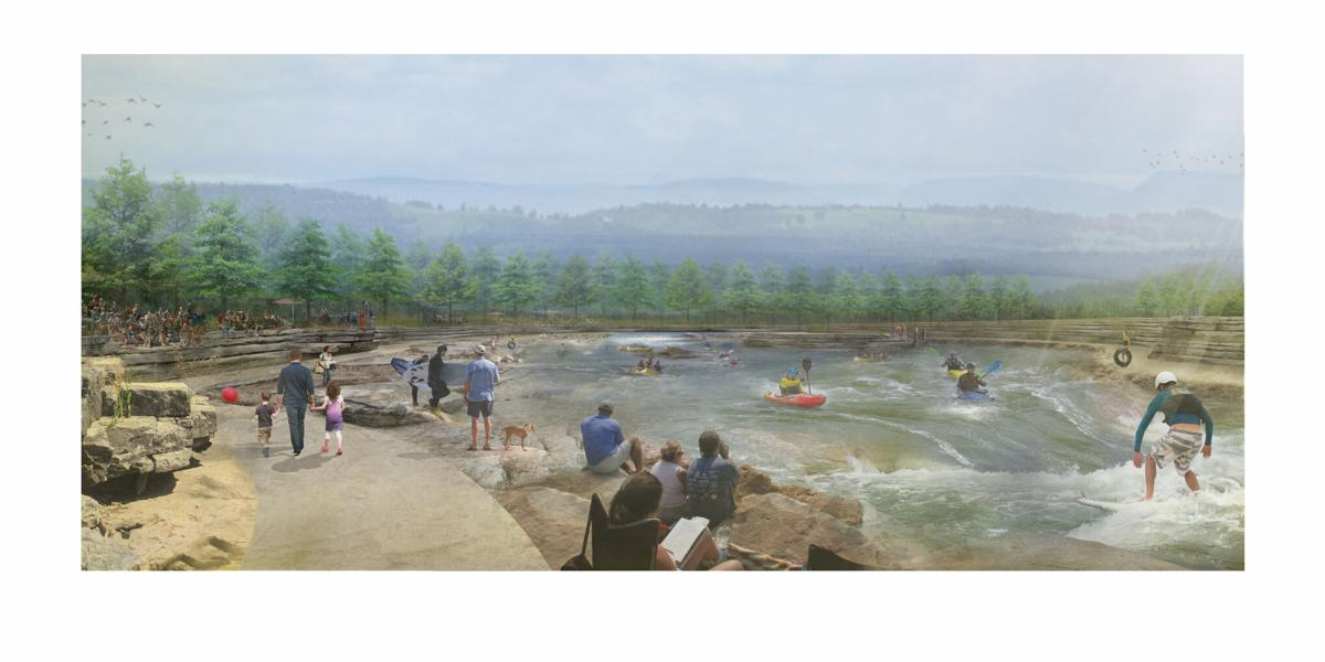 Whitewater Park artist rendering