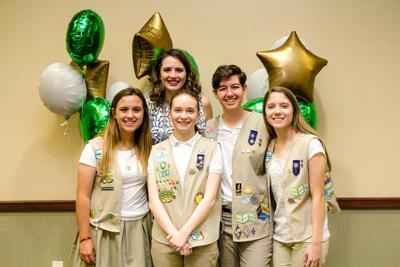 Gold Award Girl Scouts at 2019 Showcase