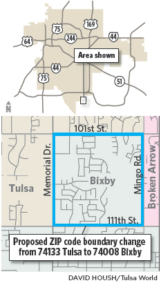Bixby Looks To Unify Its Zip Code Archive Tulsaworld Com