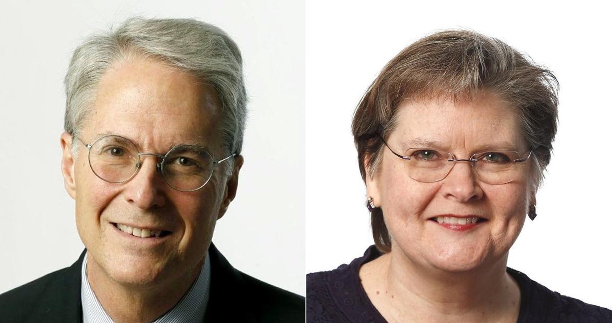 Wayne Greene and Mary Bishop