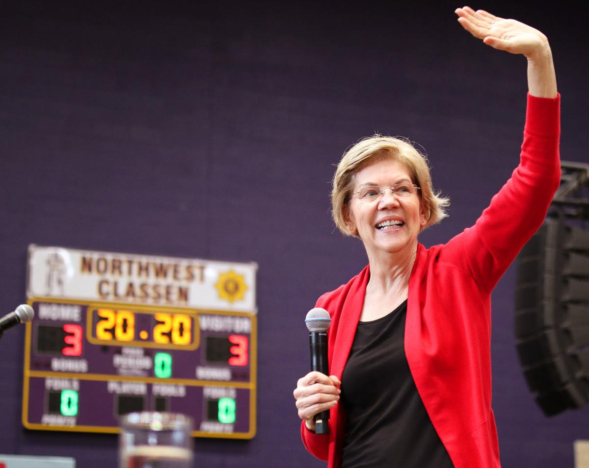 Elizabeth Warren in Oklahoma (copy)