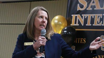 Sand Springs Superintendent Sherry Durkee