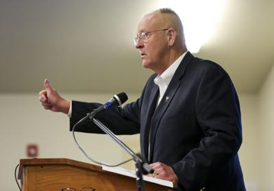 Department of Corrections Director Joe Allbaugh abruptly