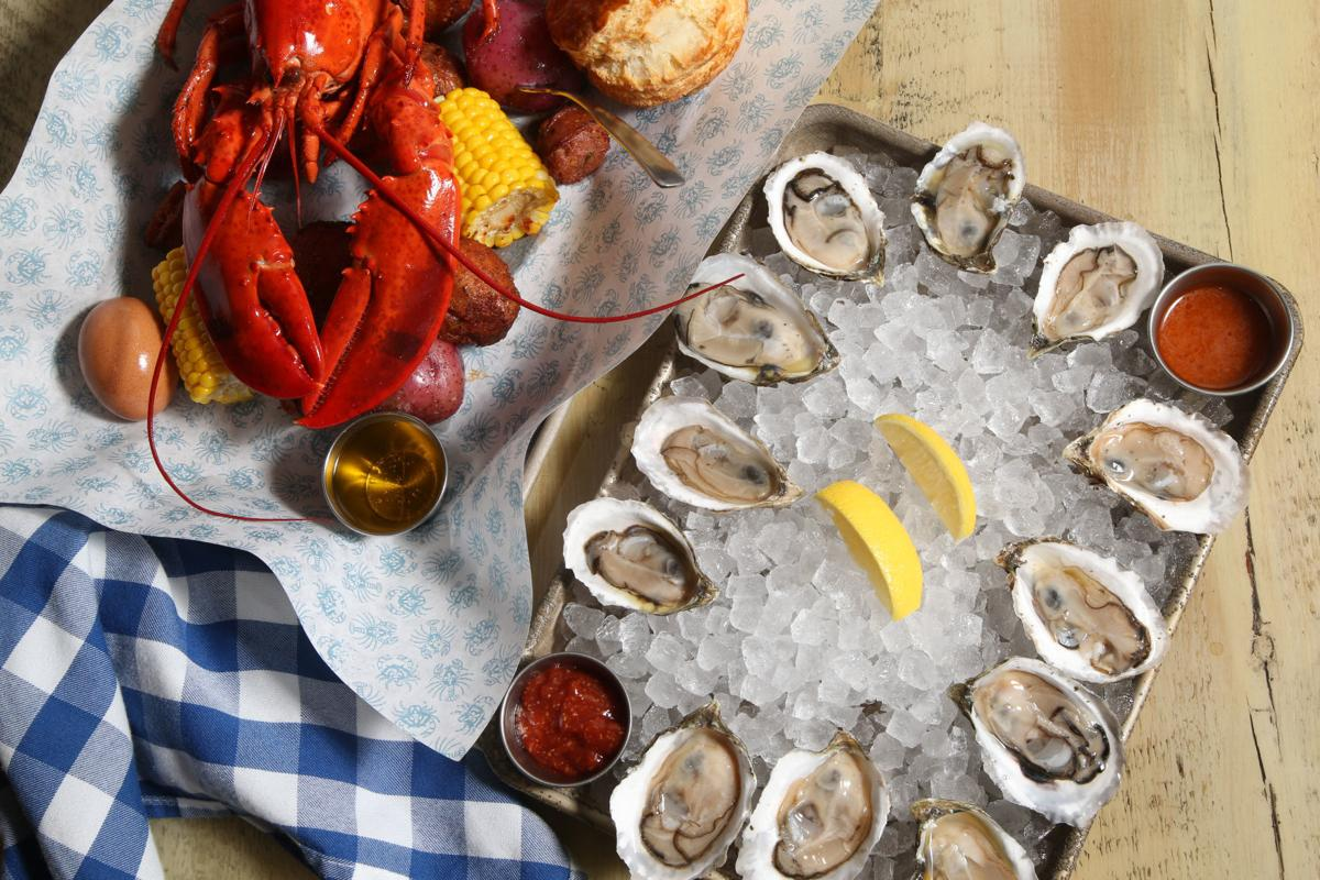 Peacemaker lobster & oysters 1