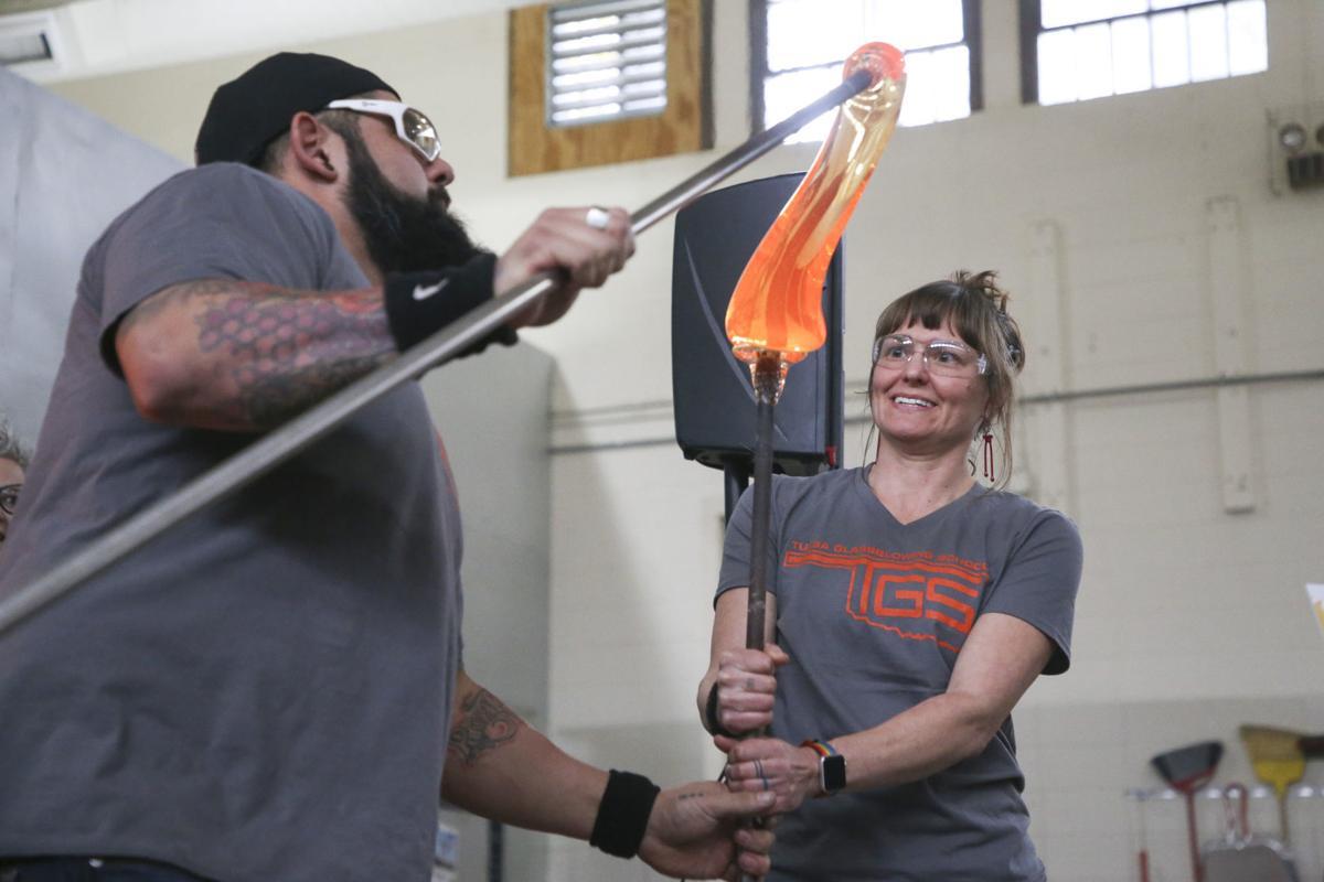 Tulsa Glassblowing School