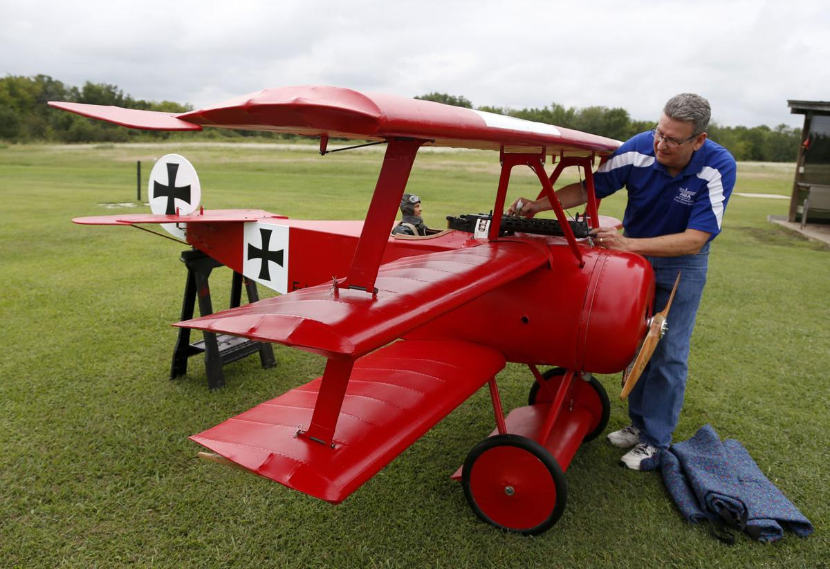 I love challenges:' Ada man builds half-scale Red Baron
