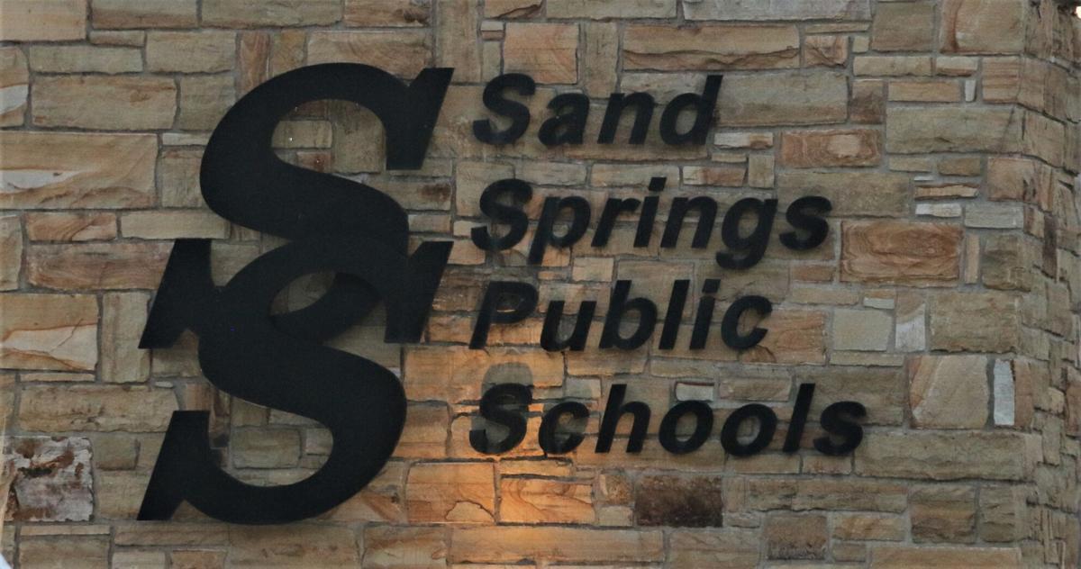 Sand Springs Public Schools logo. Stock Image (copy)