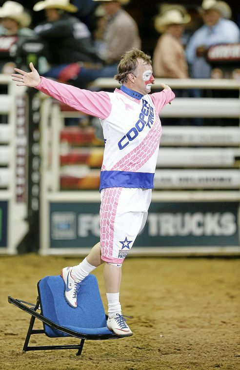 Funny business: PBR entertainer Flint Rasmussen finds value in