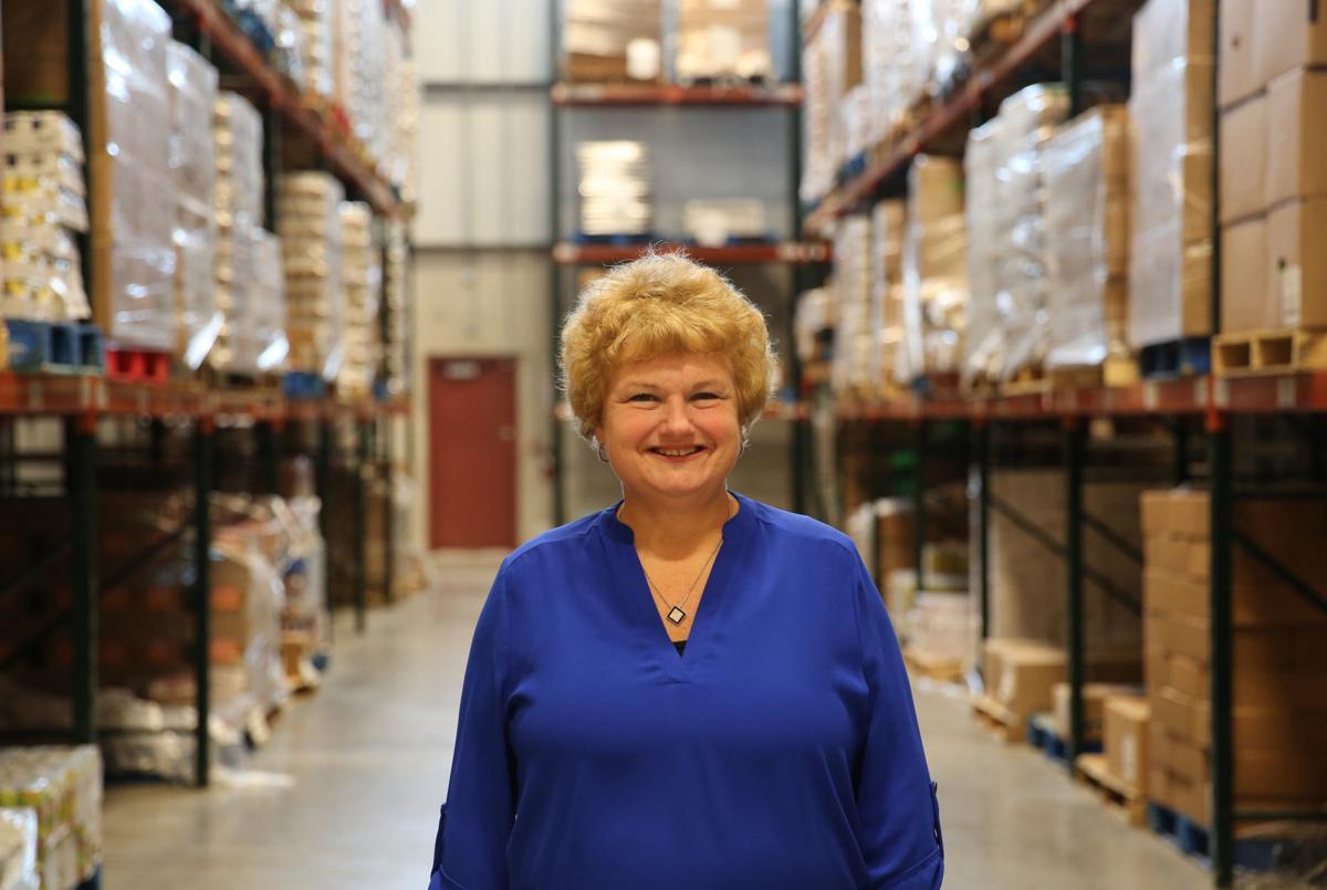 Lori A Long at Food Bank