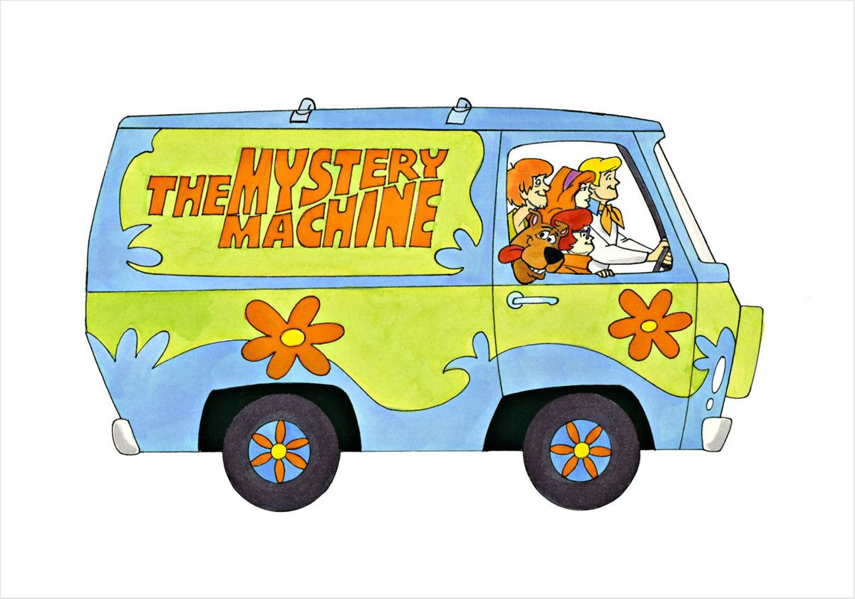 Ron Campbell Mystery Machine