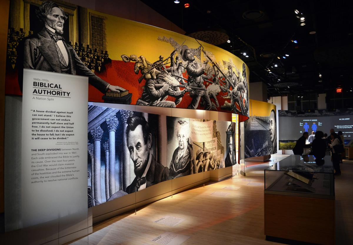 Photo gallery: A look inside the new Museum of the Bible
