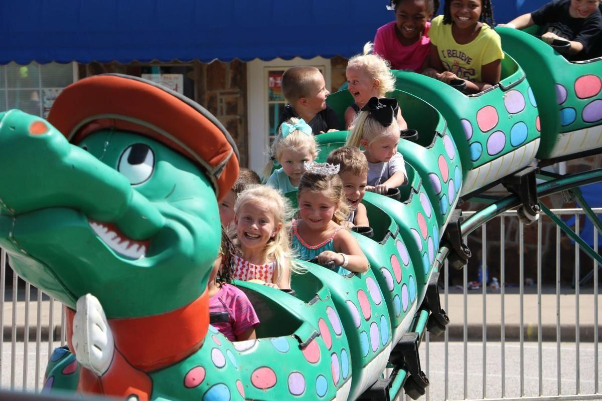 Rides at the Coweta Fall Festival
