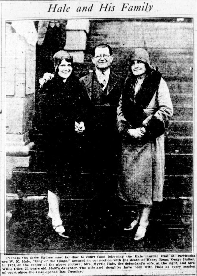william k  hale and family