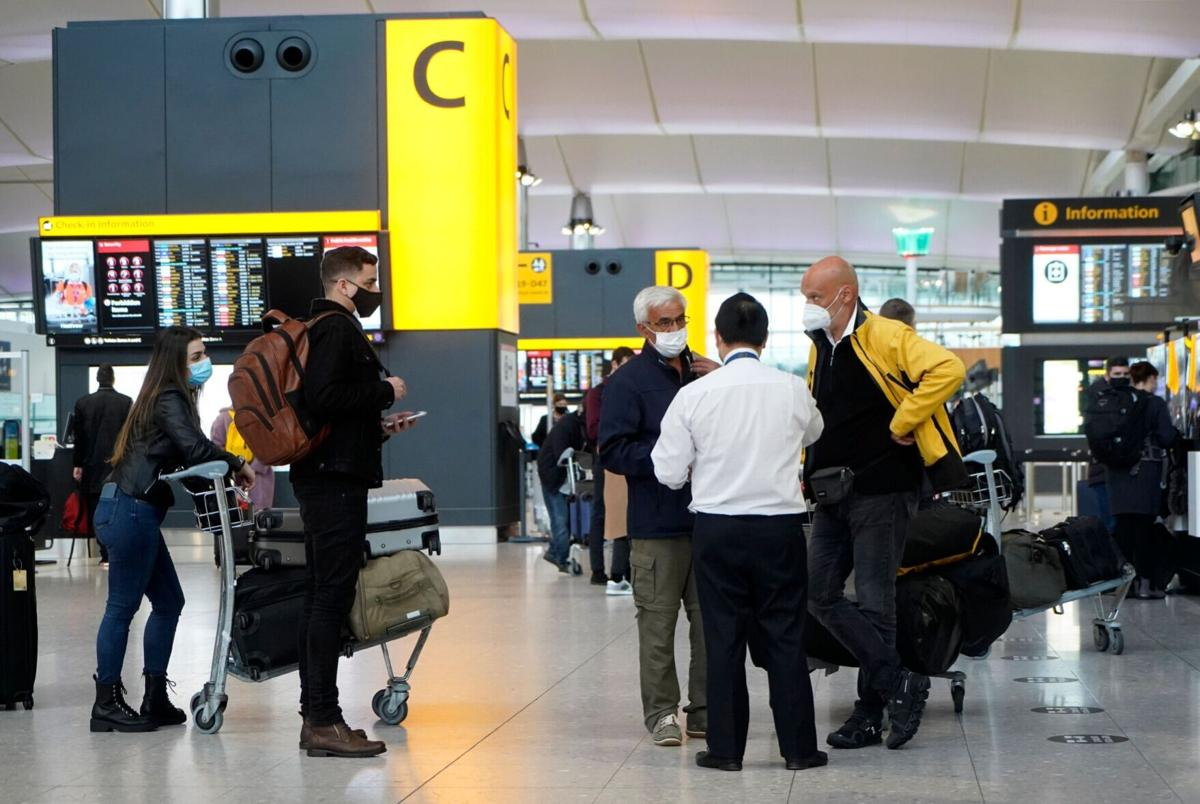 CDC to require negative Covid-19 test for international passengers flying to US