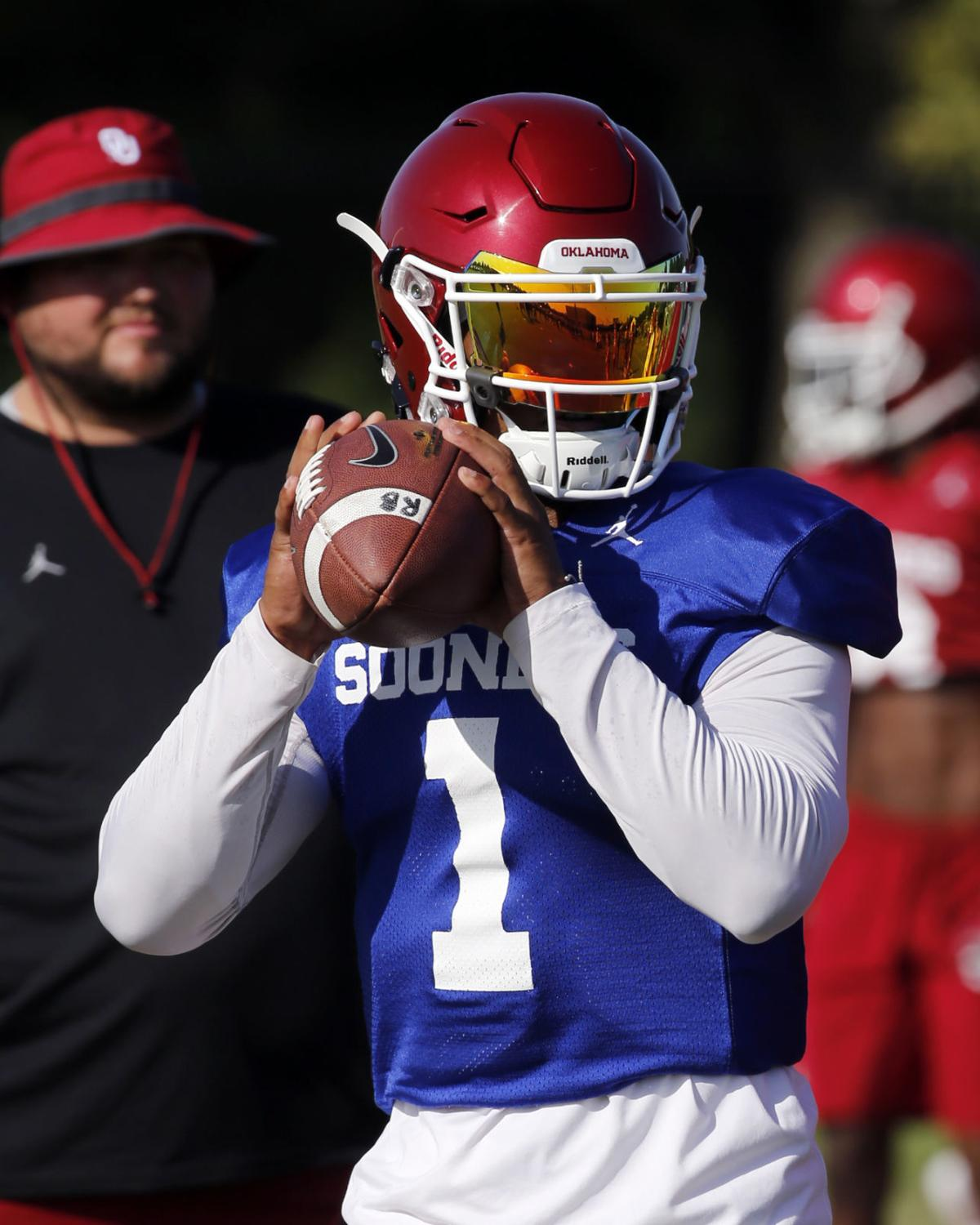 new style ca4f0 95326 OU football: Kyler Murray named Oklahoma's starting ...