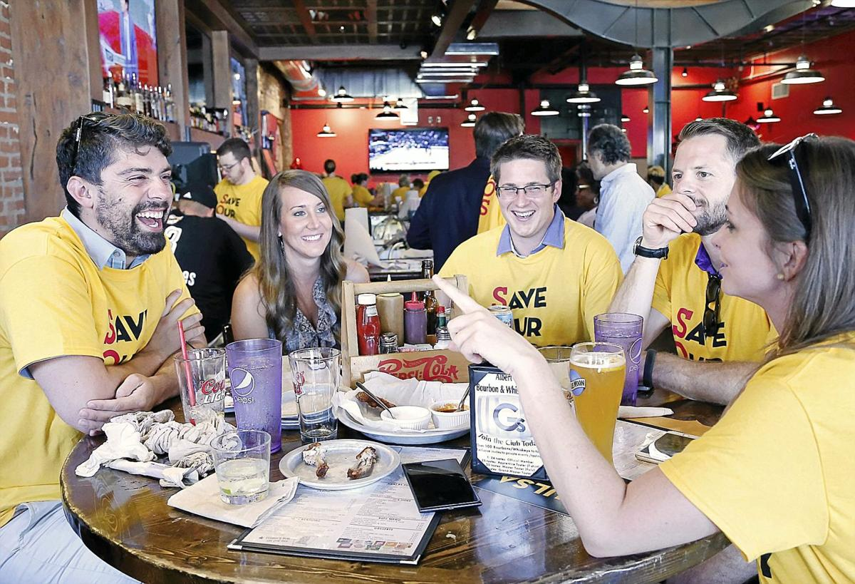 Shock season-ticket holders attend watch party to keep ...