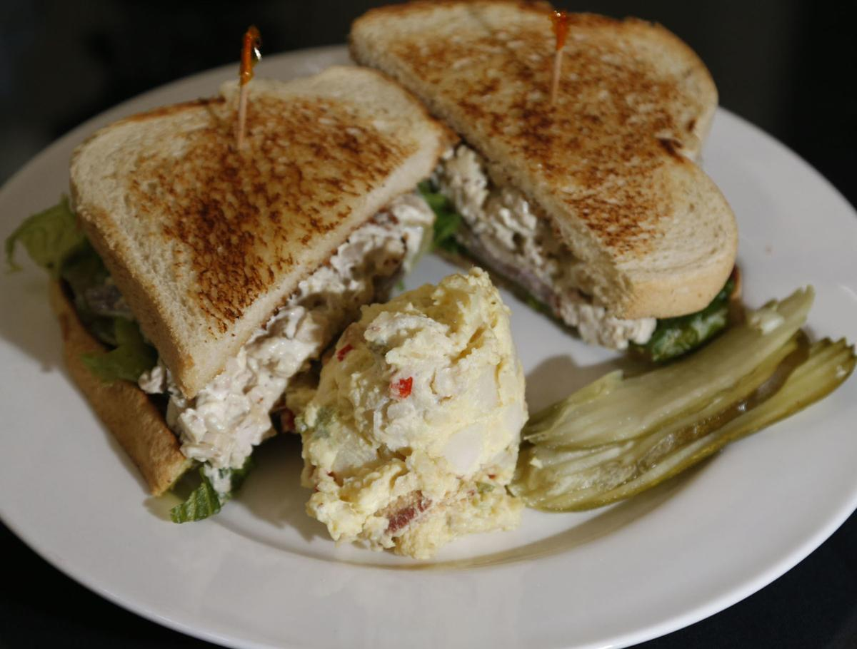 Bluestone chicken salad sandwich