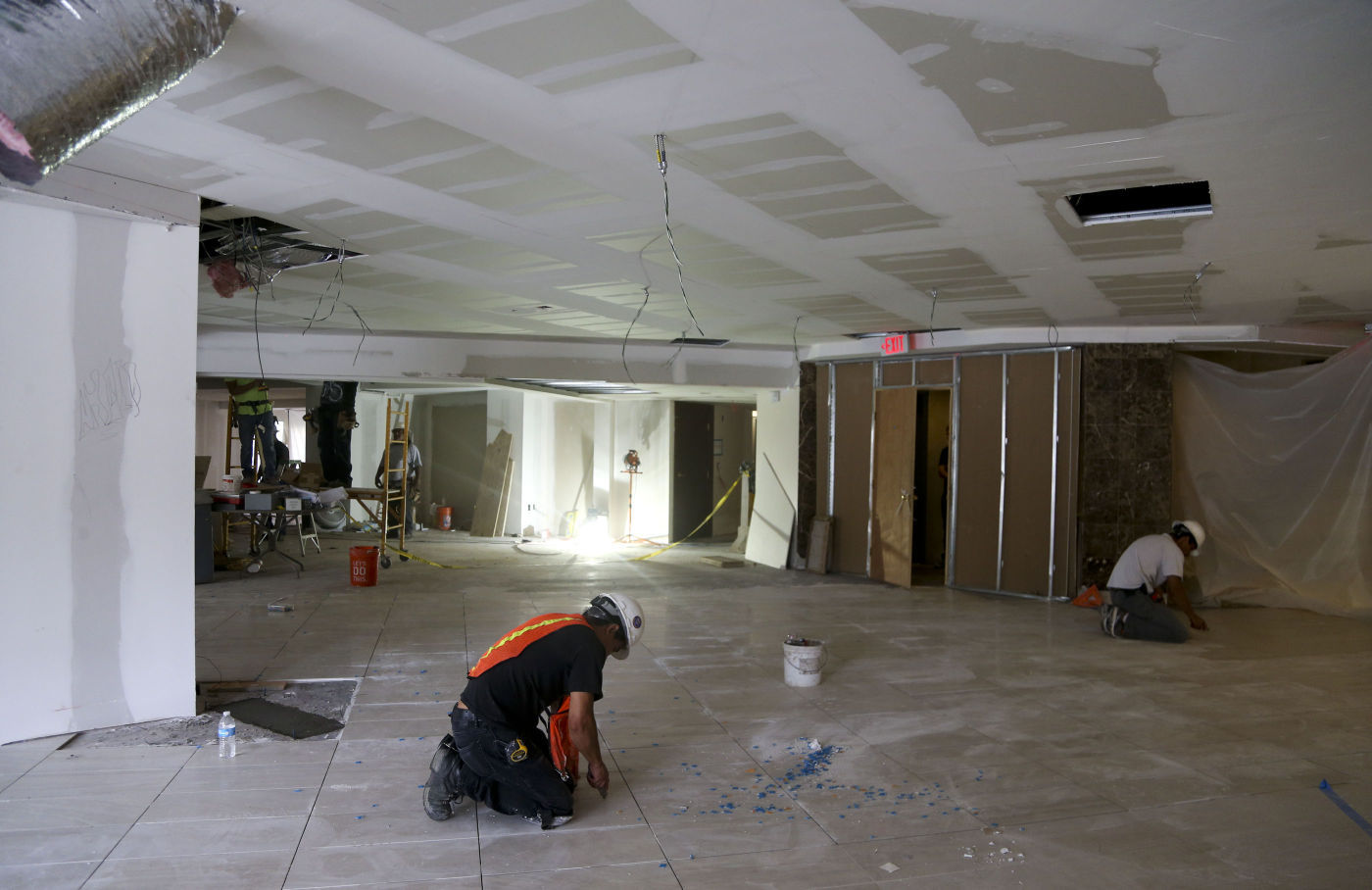 Renovations to University Club Apartments Mansion House