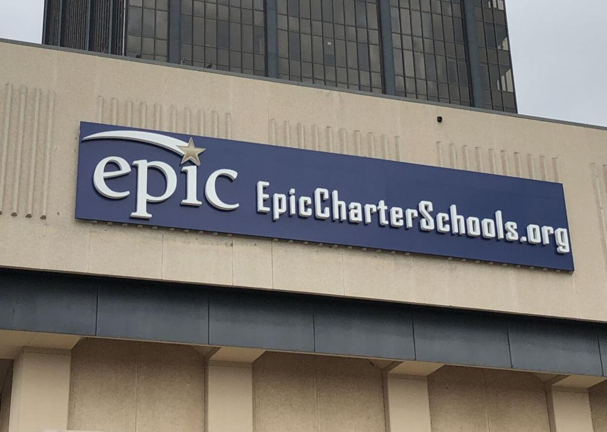 Epic Charter Schools sign