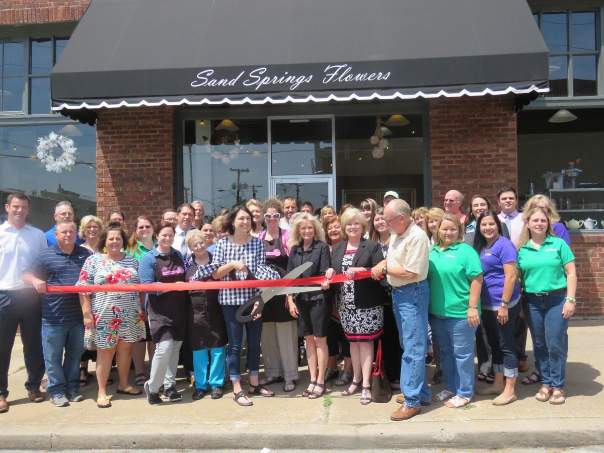 Sand Springs Flowers Celebrates Official Ribbon Cutting Open House