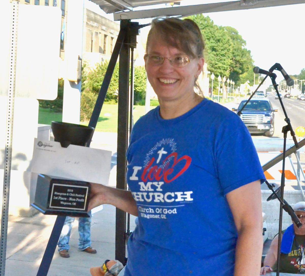 Virginia VonWald wins chili prize