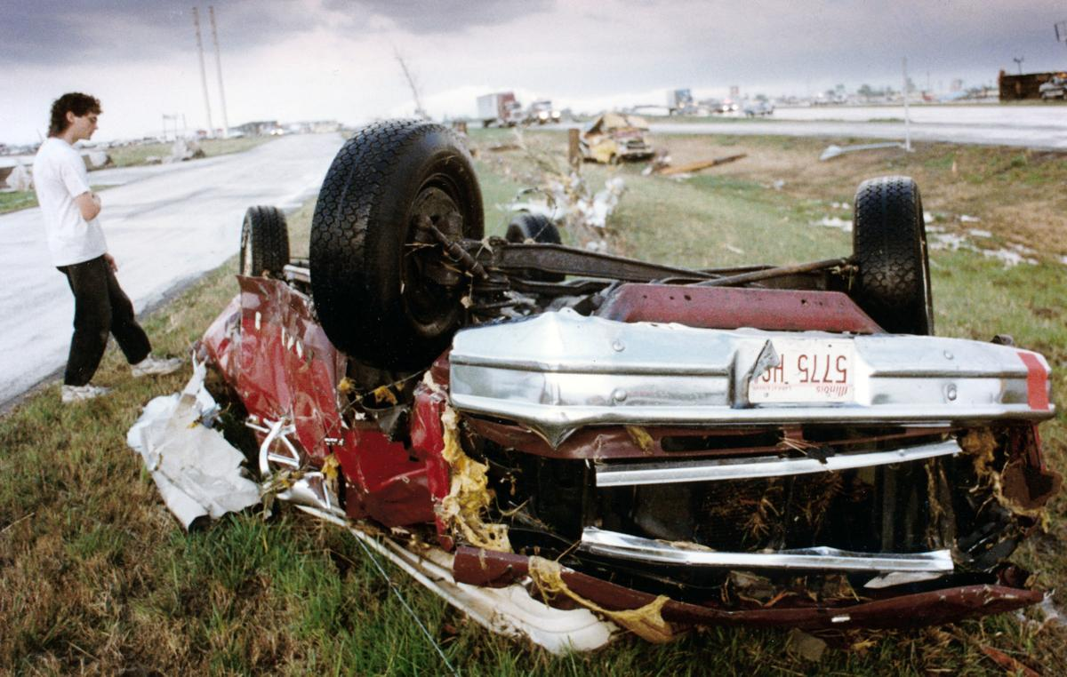 Photo Gallery The Devastation Of The 1993 Tornado That