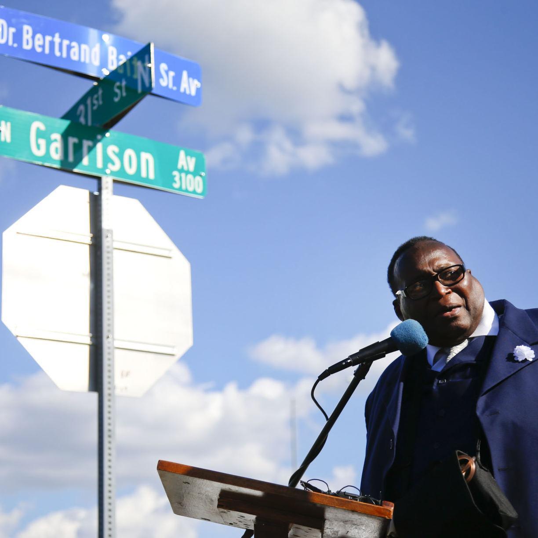 Services set for the Rev  Bertrand Bailey, north Tulsa