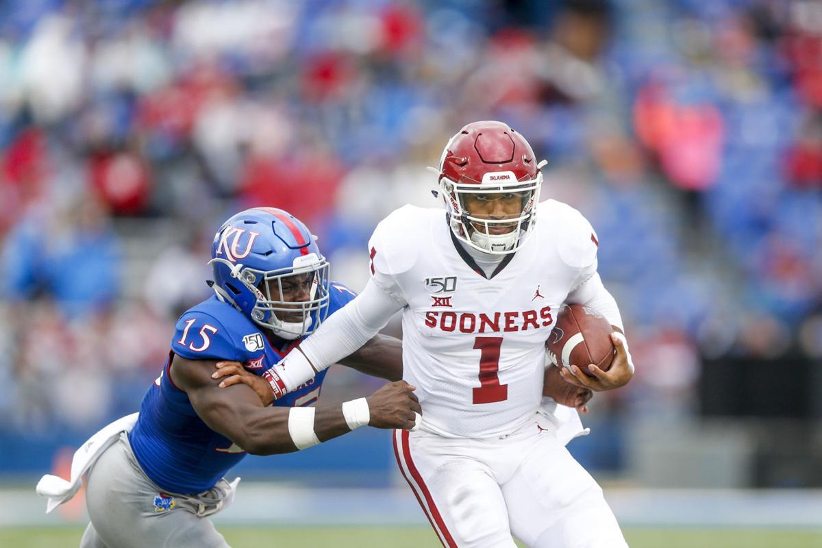 OU at Kansas: Sooners shake off slow start to defeat ...