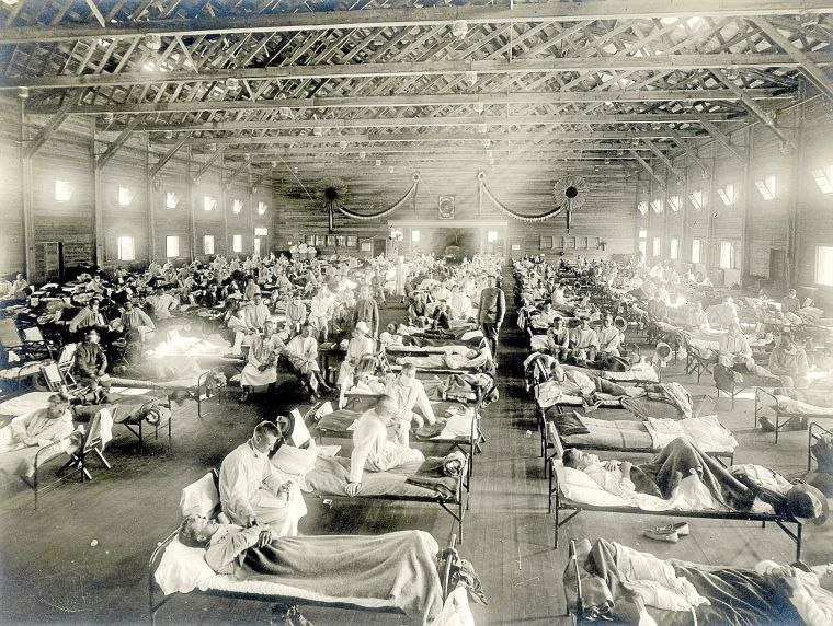 Camp Funston flu epidemic