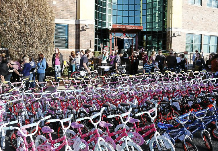 Bikes for Tykes to help hundreds of Tulsa kids