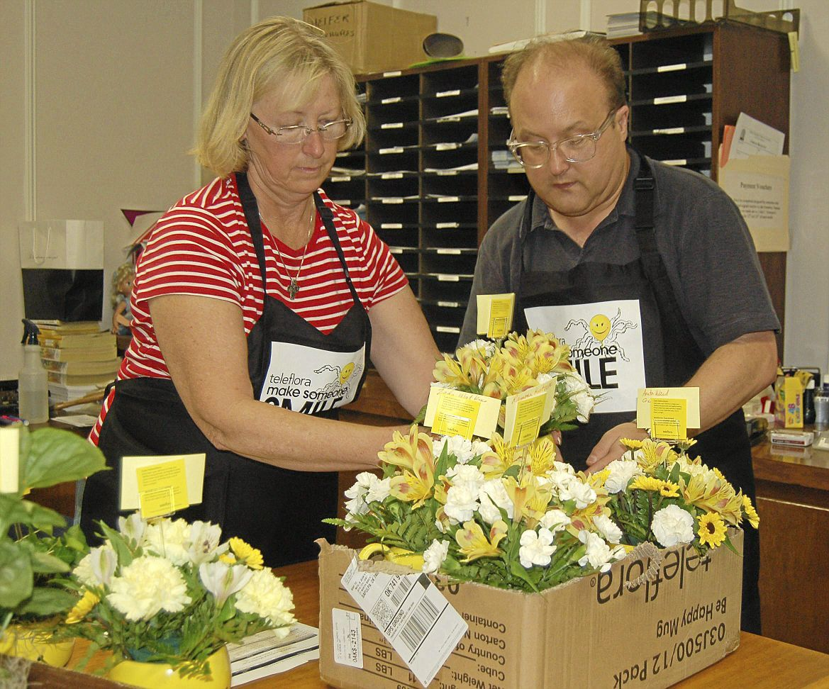 First Prebyterian Church Neal And Jeans Flowers Deliver Smiles To