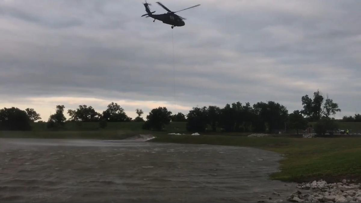 Helicopter sand bag 2