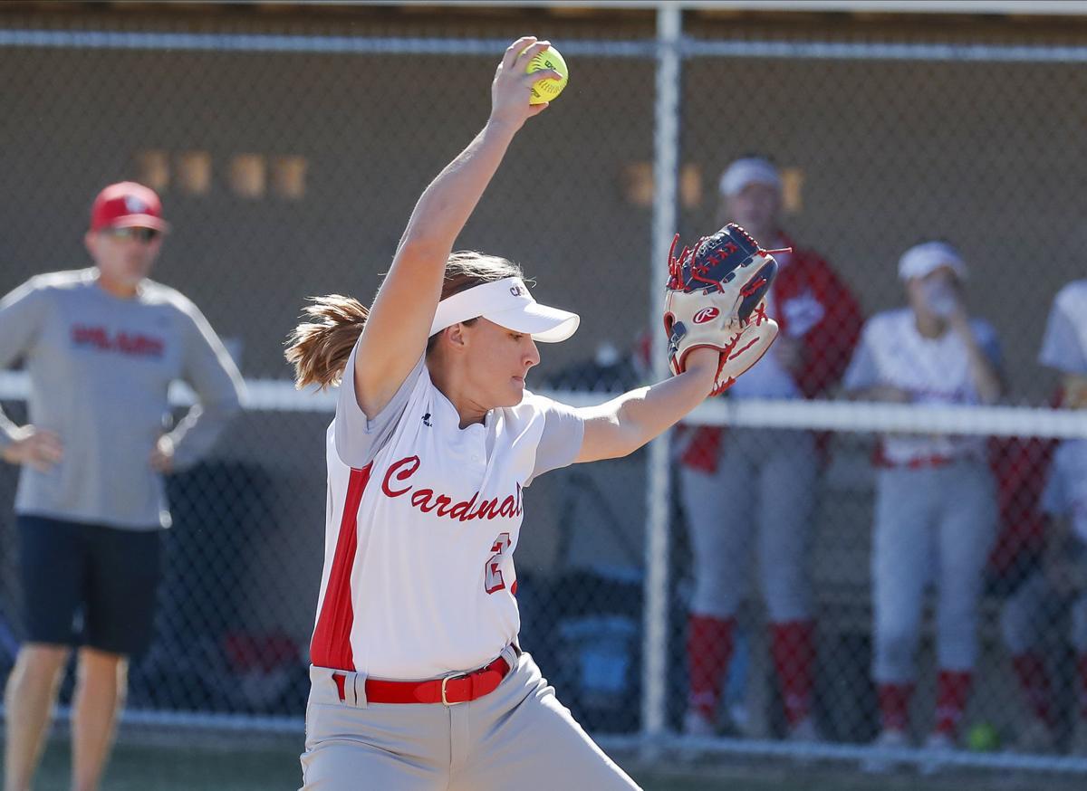 Collinsville softball