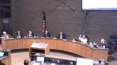 Broken Arrow city council March 2